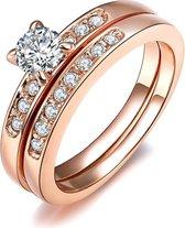 Fate Jewellery Ring - Deluxe Ring - met Zirkonia kristallen