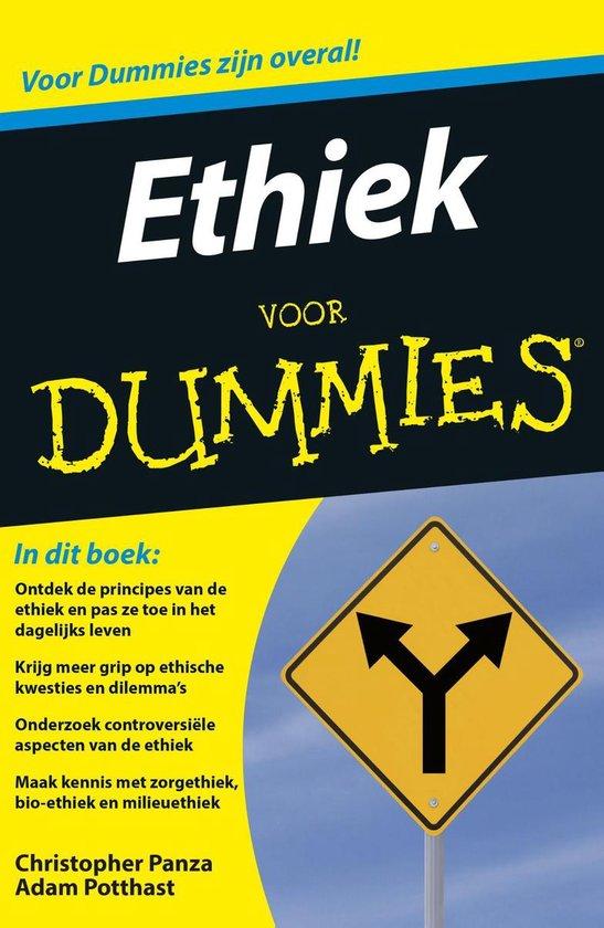 Boek cover Voor Dummies - Ethiek voor Dummies van Christopher Panza (Onbekend)
