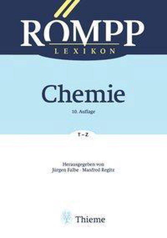 Boek cover RÖMPP Lexikon Chemie, 10. Auflage, 1996-1999 van Eckard Amelingmeier (Onbekend)