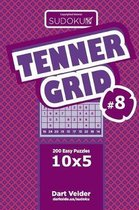 Sudoku Tenner Grid - 200 Easy Puzzles 10x5 (Volume 8)