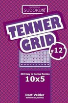 Sudoku Tenner Grid - 200 Easy to Normal Puzzles 10x5 (Volume 12)