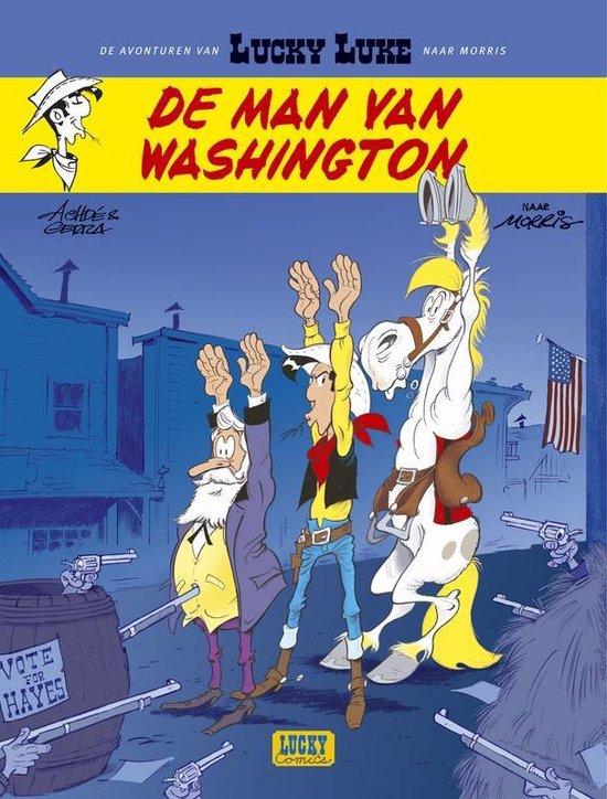 Cover van het boek 'De man van Washington' van  Achde
