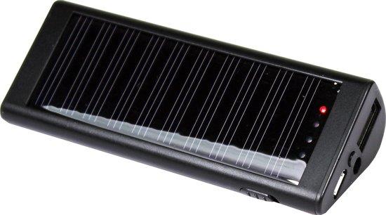 Powerplus Powerbank Zebra Solar 2000 Mah 9,9 X 4 X 2,5 Cm Zwart