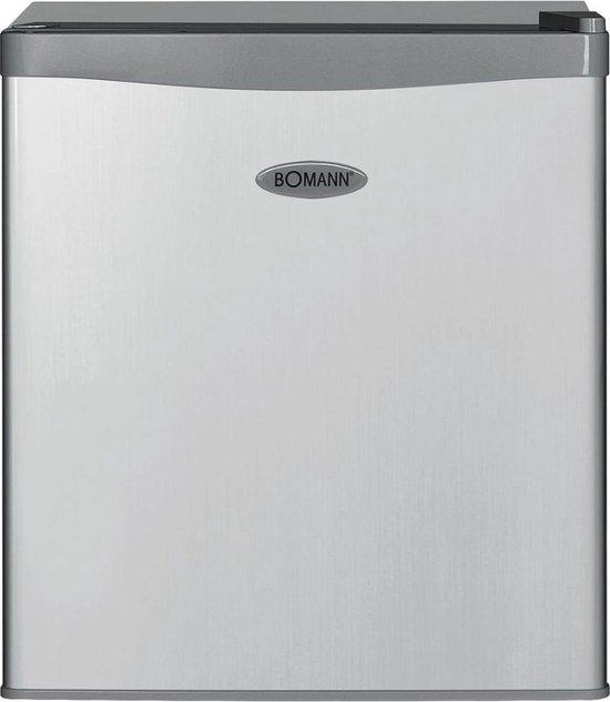 Koelkast: Bomann KB 389 Vrijstaand 42l Zilver combi-koelkast, van het merk Bomann