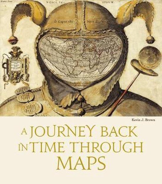 Boek cover Journey Back in Time Through Maps (New Edition) van Kevin J. Brown (Hardcover)