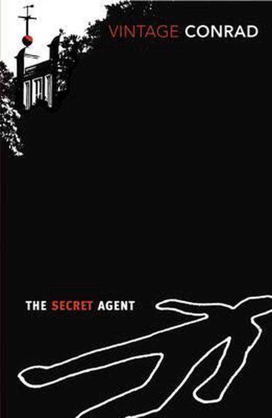 Boek cover The Secret Agent van Joseph Conrad (Onbekend)