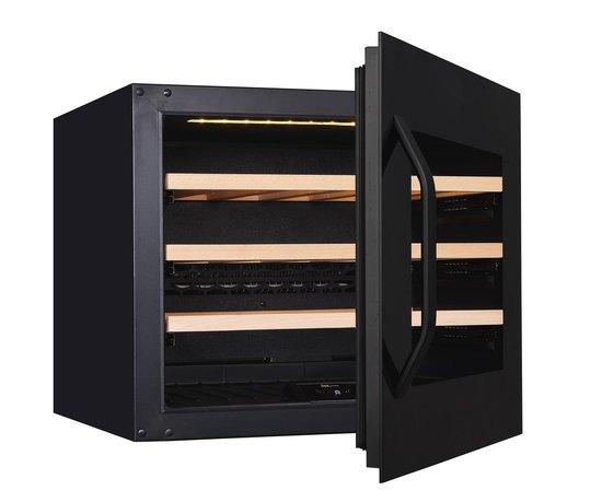 Koelkast: Wine Klima Excellence S24 Inbouw wijnklimaatkast - Zwart - 24 flessen, van het merk Wine Klima