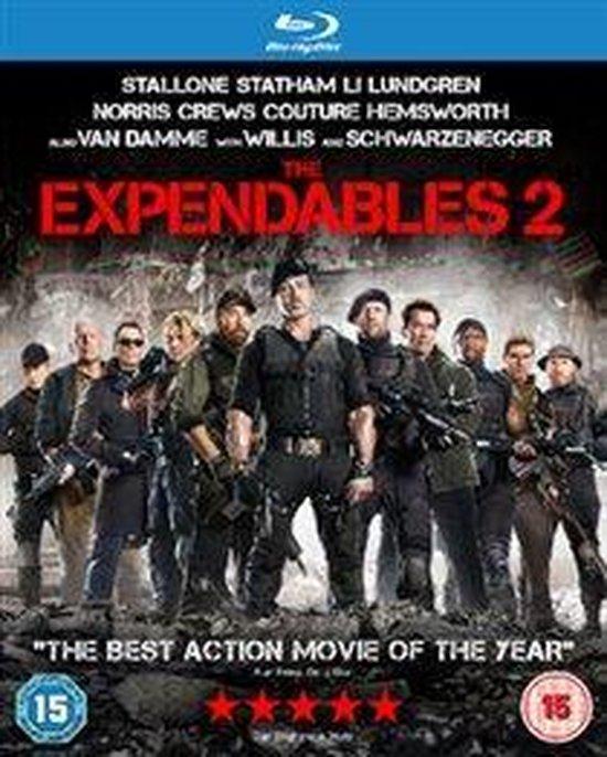 Cover van de film 'Expendables 2'