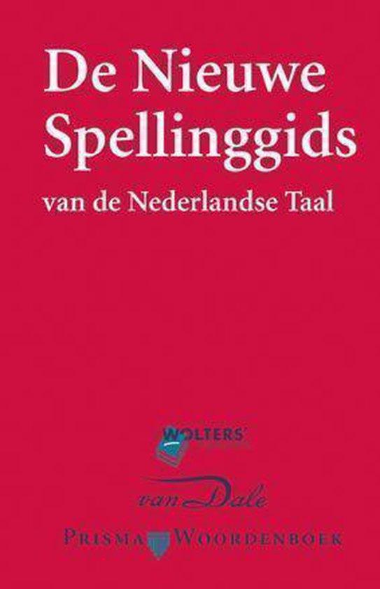 Boek cover De nieuwe spellinggids van de Nederlandse taal van Reinsma (Hardcover)
