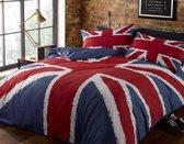 Dekbedovertrek Union Jack   Britse Vlag   Eenpersoons