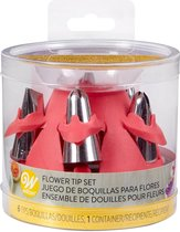 Wilton 6 Bloemen Spuitmondjes met Opbergbox