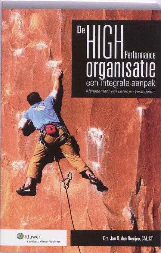 De High Performance Organisatie - Jan D. den Breejen pdf epub