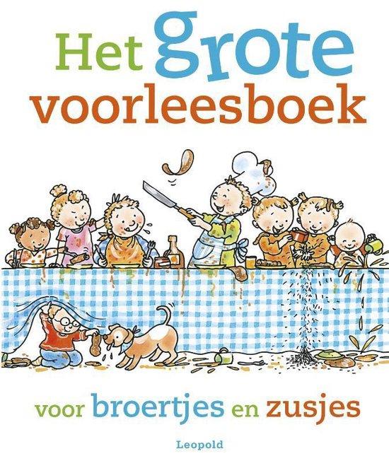 Boek cover Het grote voorleesboek voor broertjes en zusjes van Jet Boeke (Hardcover)