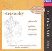 Stravinsky: Pulcinella; Apollon Musagete; Capriccio