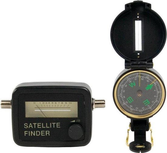 Konig SATFINDER-KIT Satelliet locator set