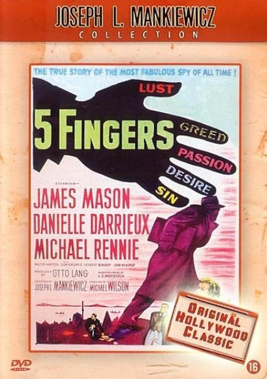 Cover van de film '5 Fingers'