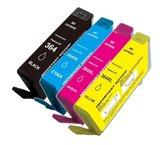 Merkloos inktcartridge geschikt voor HP 364 XL Multipack