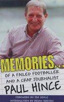 Boek cover Memories van Paul Hince