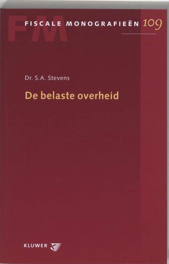 De belaste overheid - S.A. Stevens  