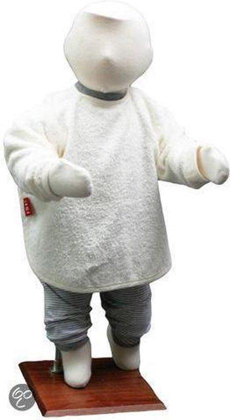 ISI Mini - Slabbetje Met Mouw - Wit