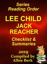Omslag Lee Child's Jack Reacher: Series Reading Order - with Summaries & Checklist - 2019