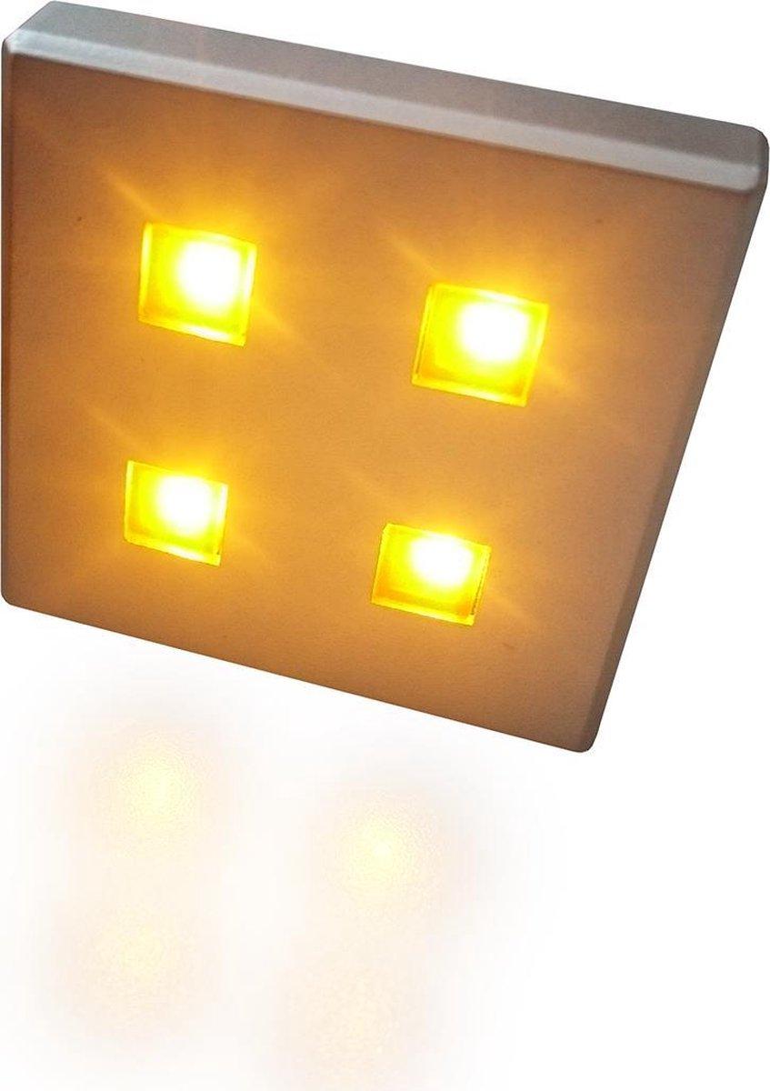 TRONIX set met 6 LED-modules, 230V/12V, plug-and-play, lichtkleur AMBER | 158-006