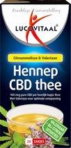 Lucovitaal Hennep CBD Thee Voedingssupplement - 20 Zakjes