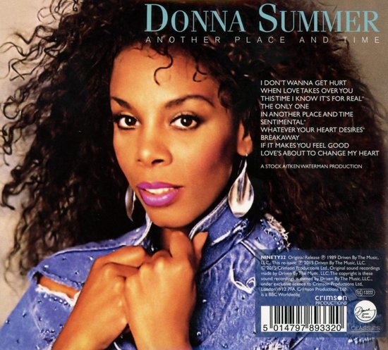 Summer Donna - Another Place And Time - Donna Summer