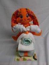 brommer klein bunny oranje