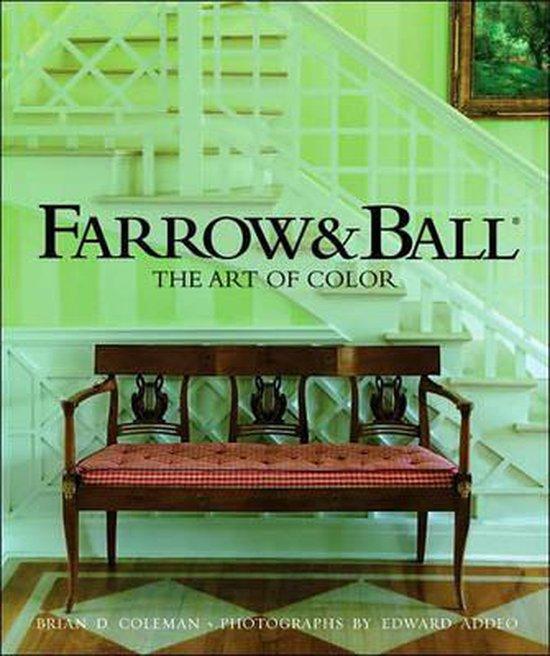 Boek cover Farrow and Ball van Brian,D Coleman (Hardcover)