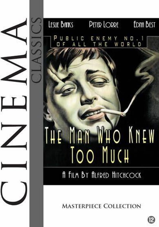 Cover van de film 'The Man Who Knew Too Much'