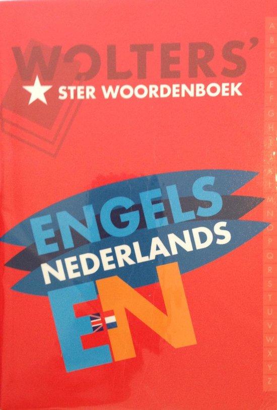 Wolters' Sterwoordenboeken Wolters' ster woordenboek Engels-Nederlands in de nieuwe spelling - none |