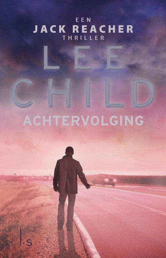 Boekomslag voor Jack Reacher 17 - Achtervolging