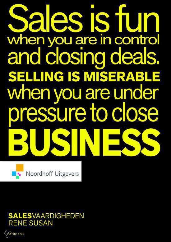 Cover van het boek 'Salesvaardigheden'
