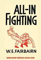 Boek cover All-In Fighting van W.E. Fairbairn