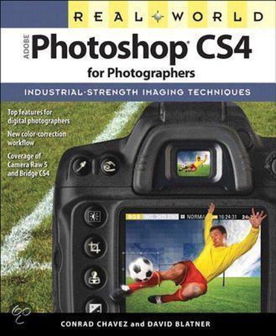 Boek cover Real World Adobe Photoshop CS4 for Photographers van Conrad Chavez (Onbekend)