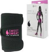 Sweat Arm Trimmer - Arm Trainer - Afslankband - Arm Shaper - Sauna effect - PINK Medium