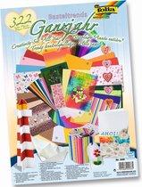 Folia Knutsel Papierpakket Trendy Creaties A040075 - 322 delig