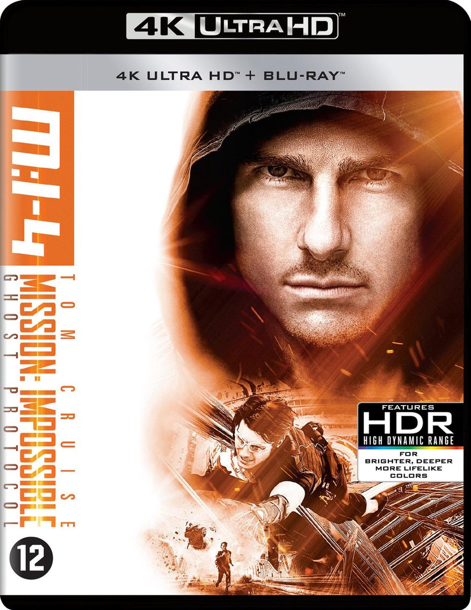 Mission: Impossible - Ghost Protocol (4K Ultra HD Blu-ray)-