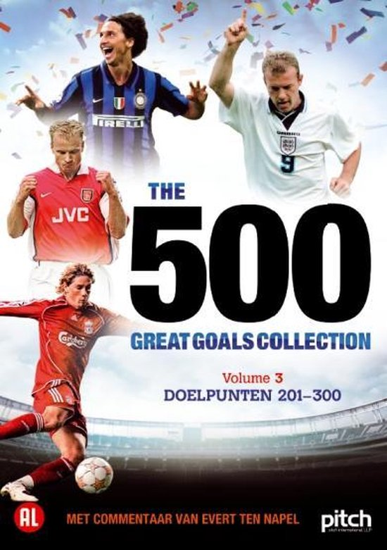 Cover van de film '500 Great Goals Vol.3'