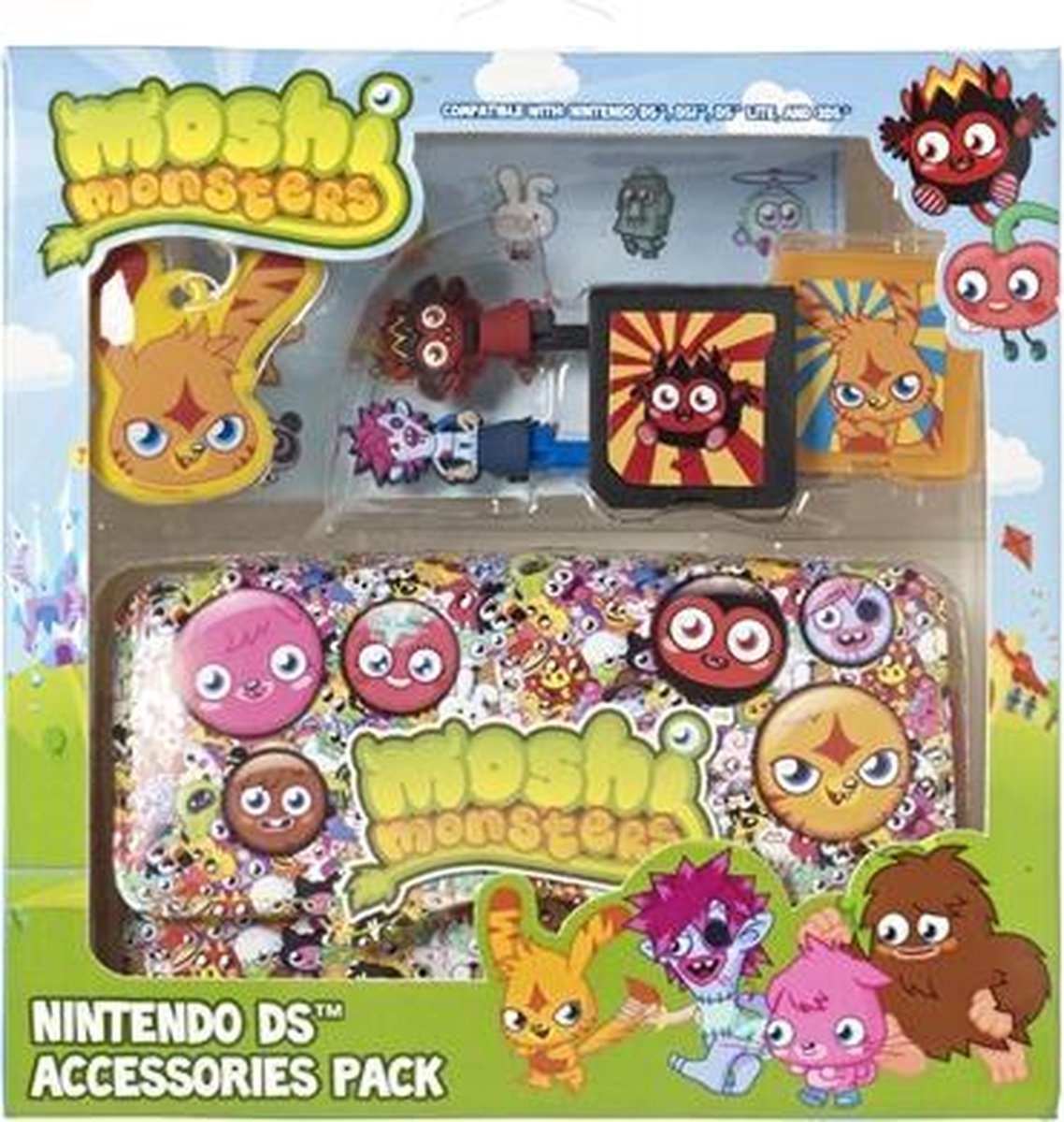 Moshi Monsters Game Pack Boy 3Ds (Mind Candy) - Gameworld