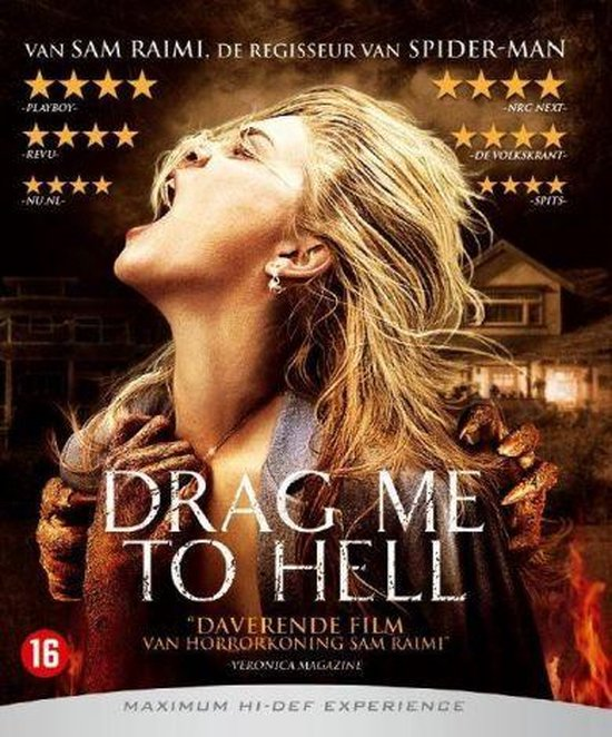 Cover van de film 'Drag Me To Hell'