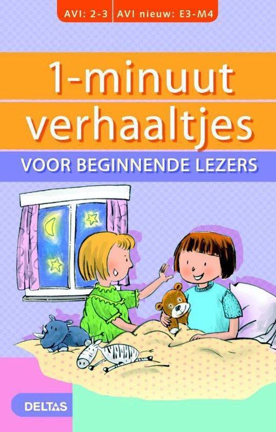 Cover van het boek '1-minuutverhaaltjes voor beginnende lezers' van Hetty van Vught