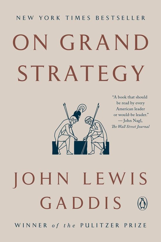 Boek cover On Grand Strategy van John Lewis Gaddis (Paperback)