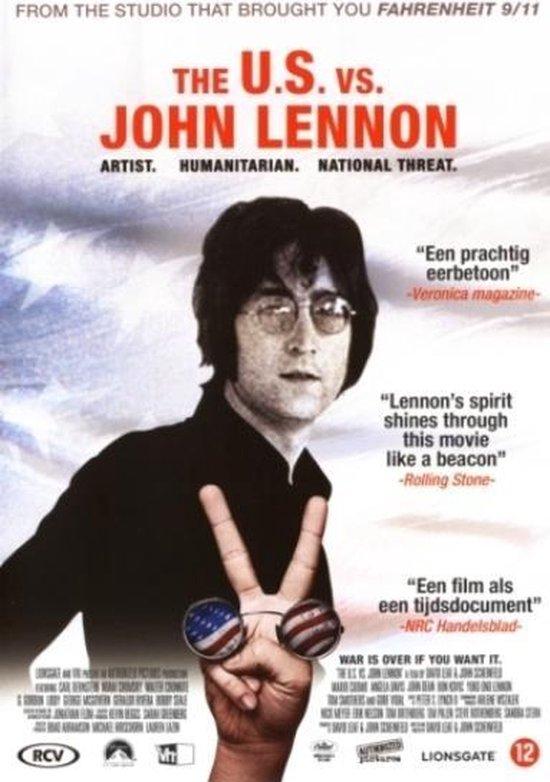 Cover van de film 'John Lennon - Us Vs. John Lennon'