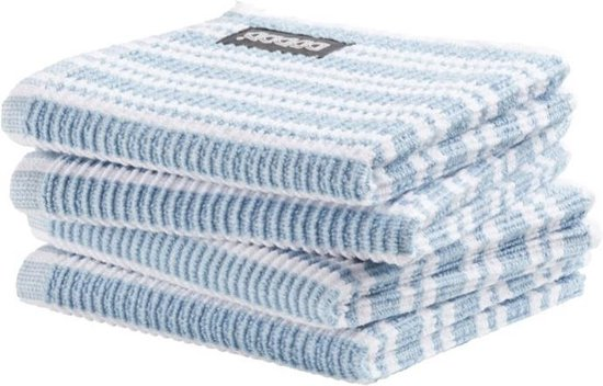 DDDDD vaatdoek Classic Clean pastel blue (30 x 30 cm) per 4 stuks