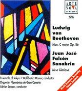 Beethoven: Mass in C major, Op. 86; Sanabria: Misa Gloriosa