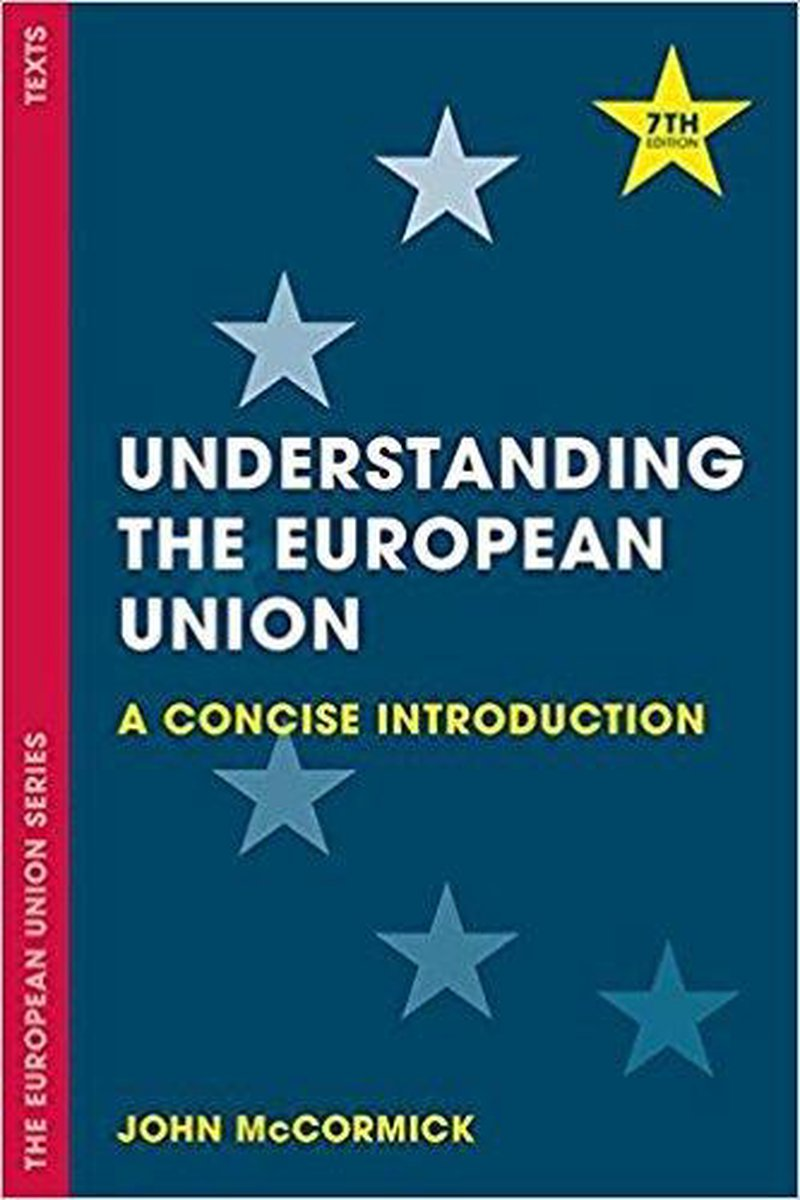 Understanding the European Union - John Mccormick