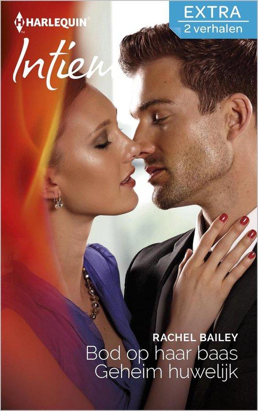 Intiem Extra 339 - Bod op haar baas ; Geheim huwelijk (2-in-1) - Rachel Bailey |
