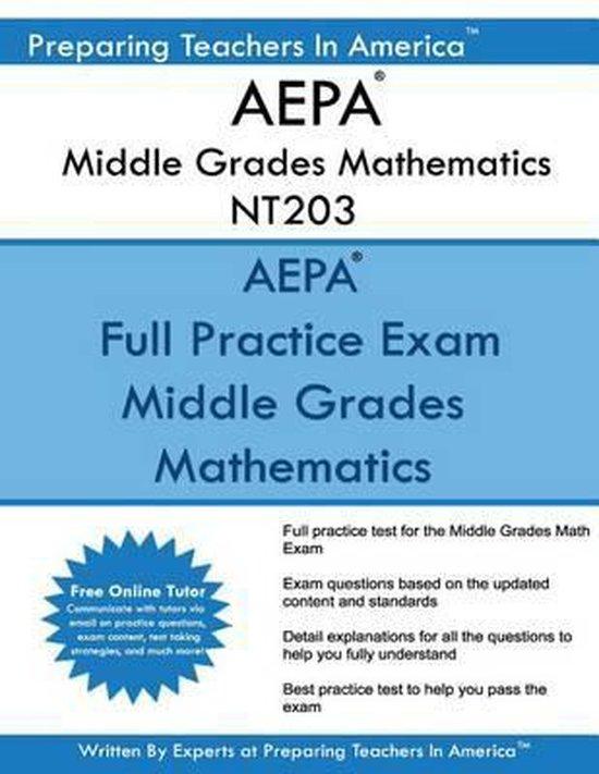Aepa Middle Grades Mathematics Nt203